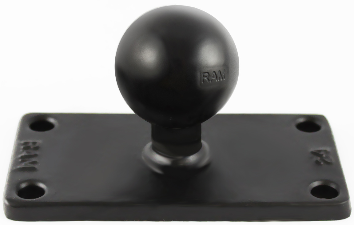 Ram C Size 15 Ball On Rectangular Plate With 15 X 35 4 Hole
